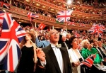 Crowds at the Last Night of the Proms at the Royal Albert Hall