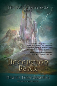 Deception Peak by Dianne Lynn Gardner- Book cover